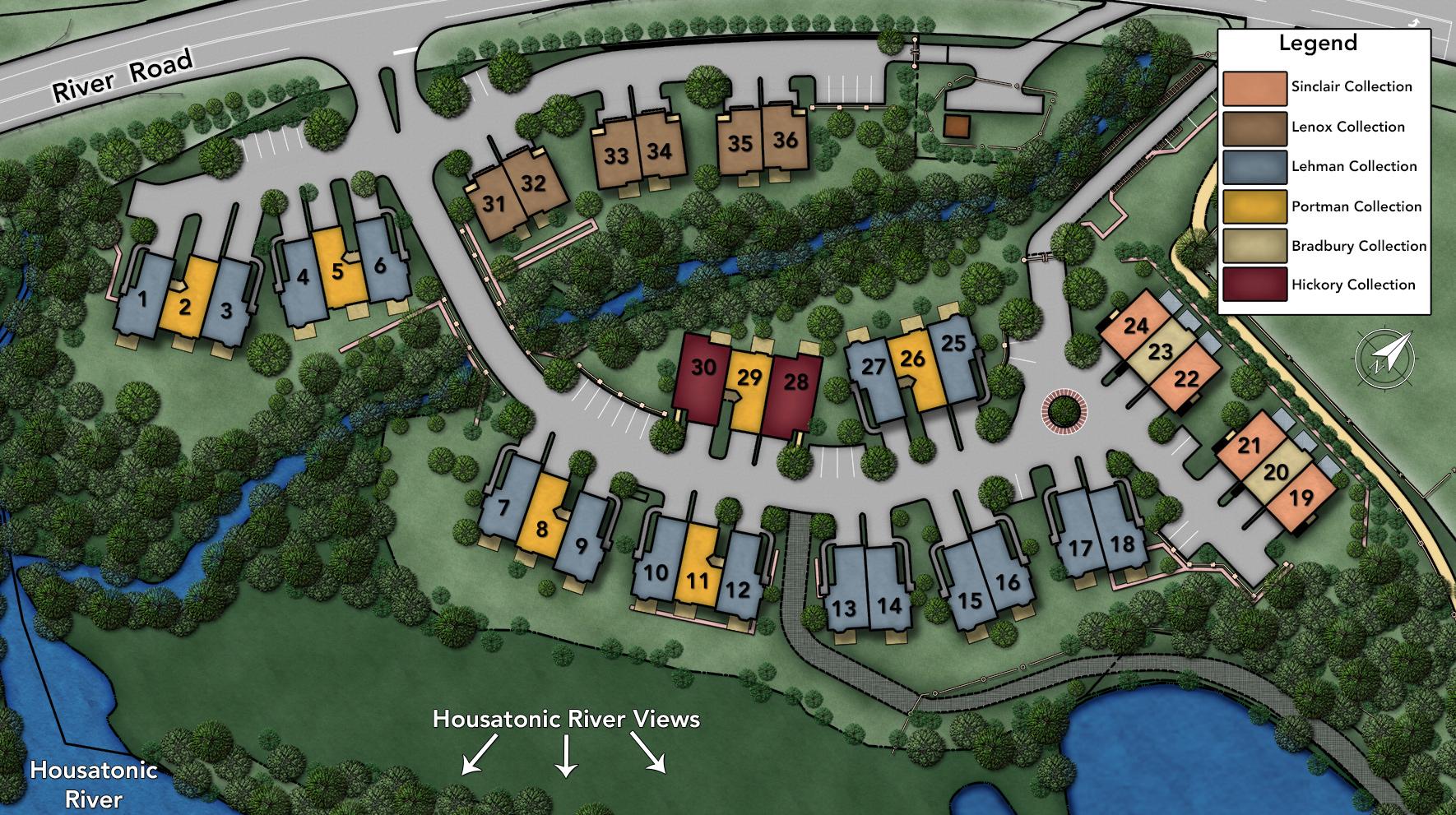 Shelton Cove Site Plan