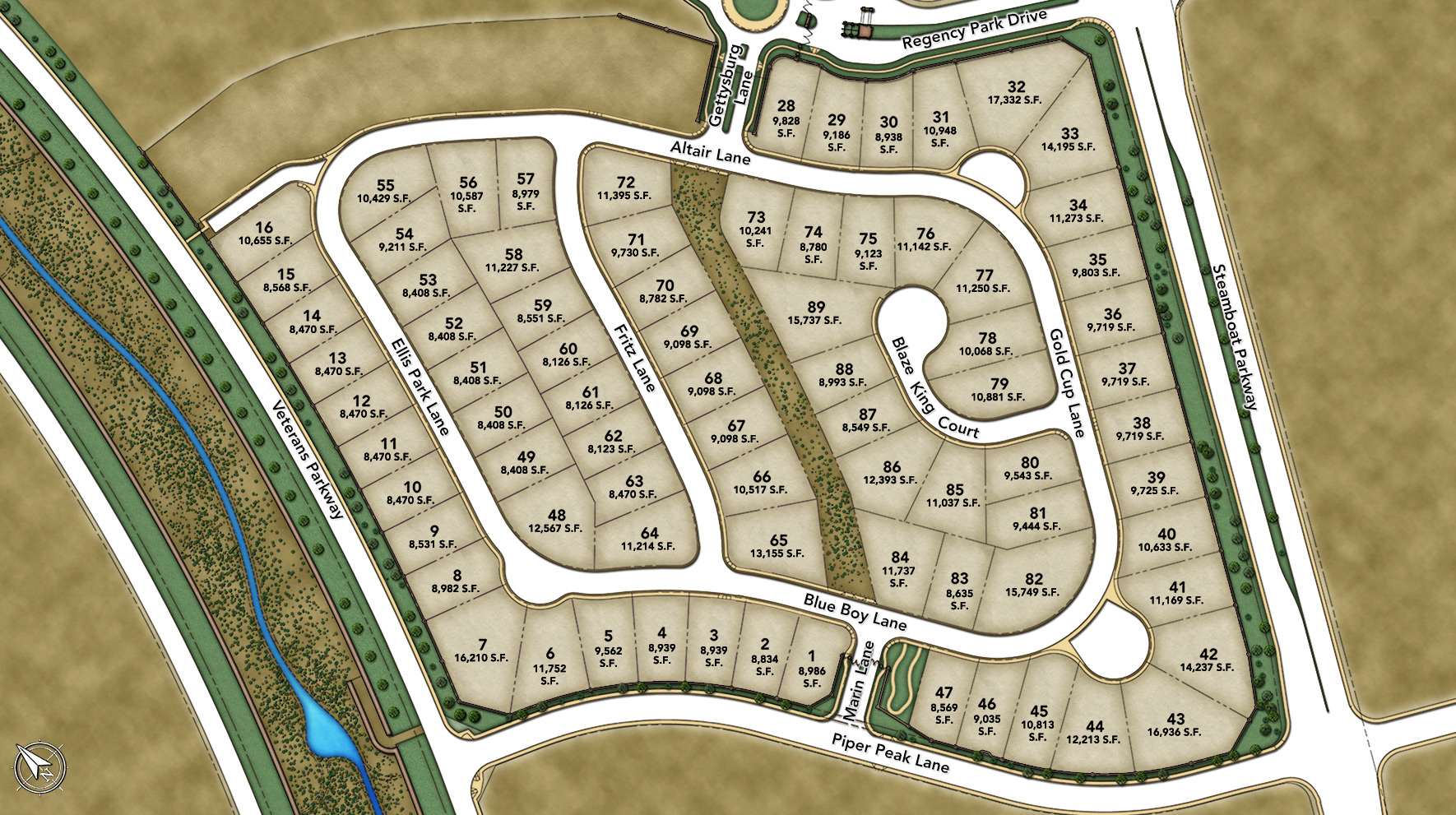 Presidio at Damonte Ranch Site Plan l