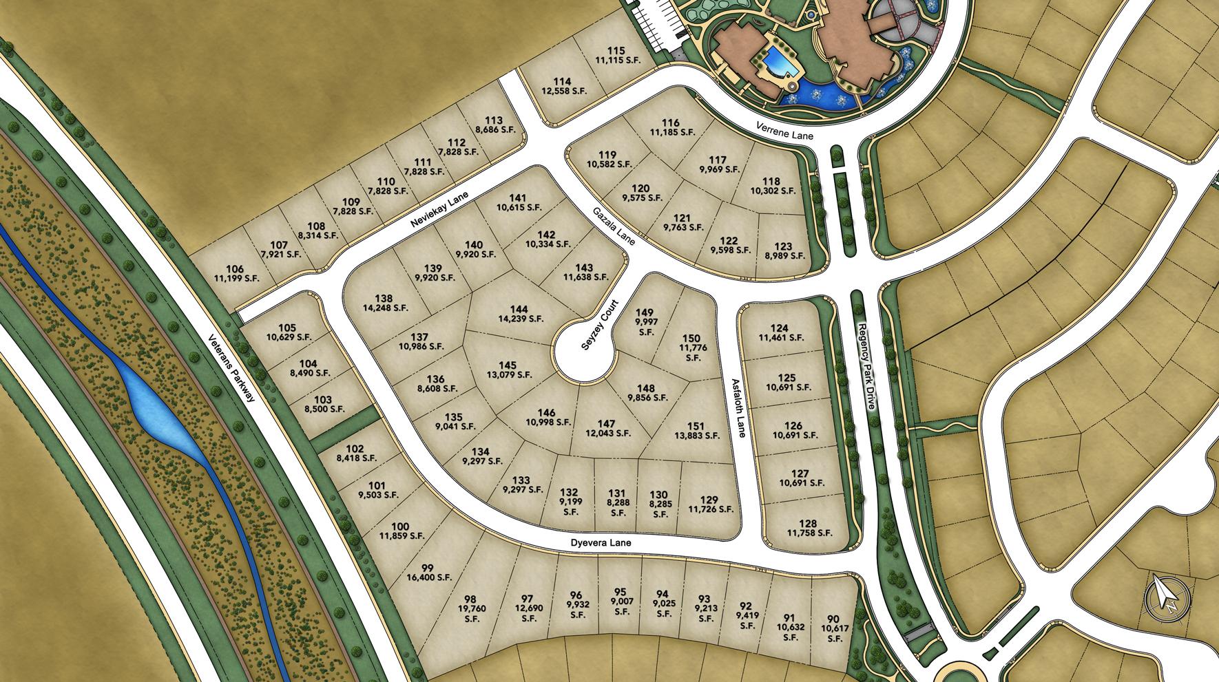 Presidio at Damonte Ranch Site Plan ll