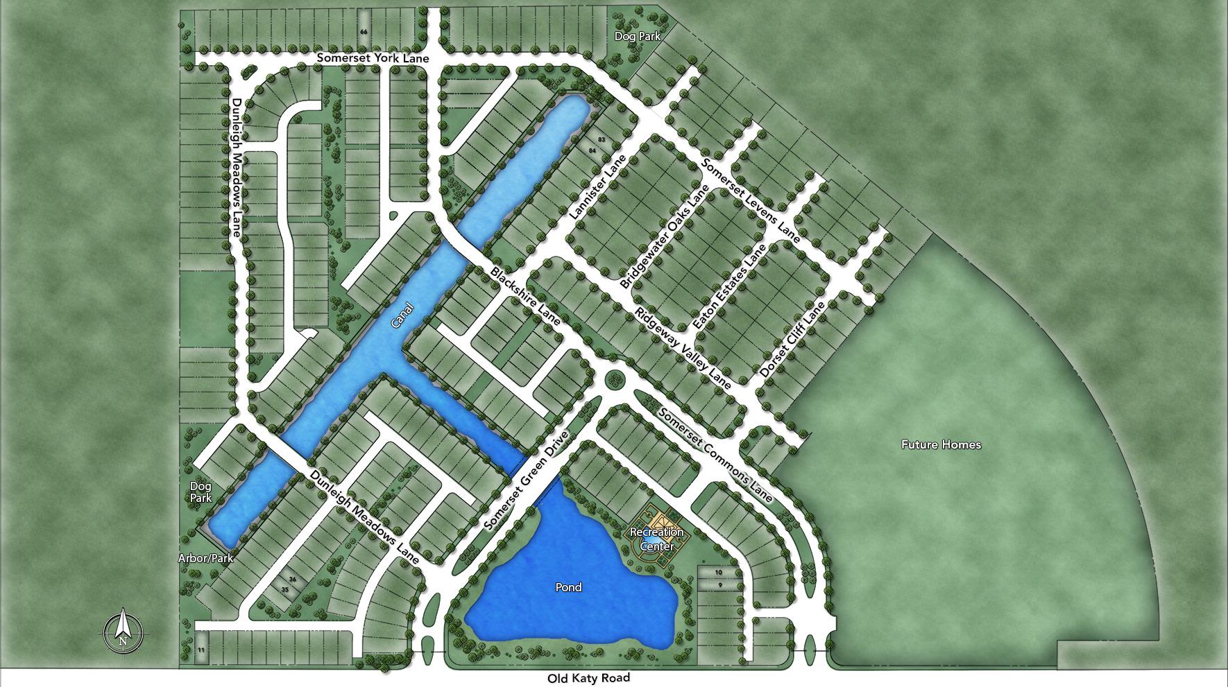 Somerset Green Site Plan