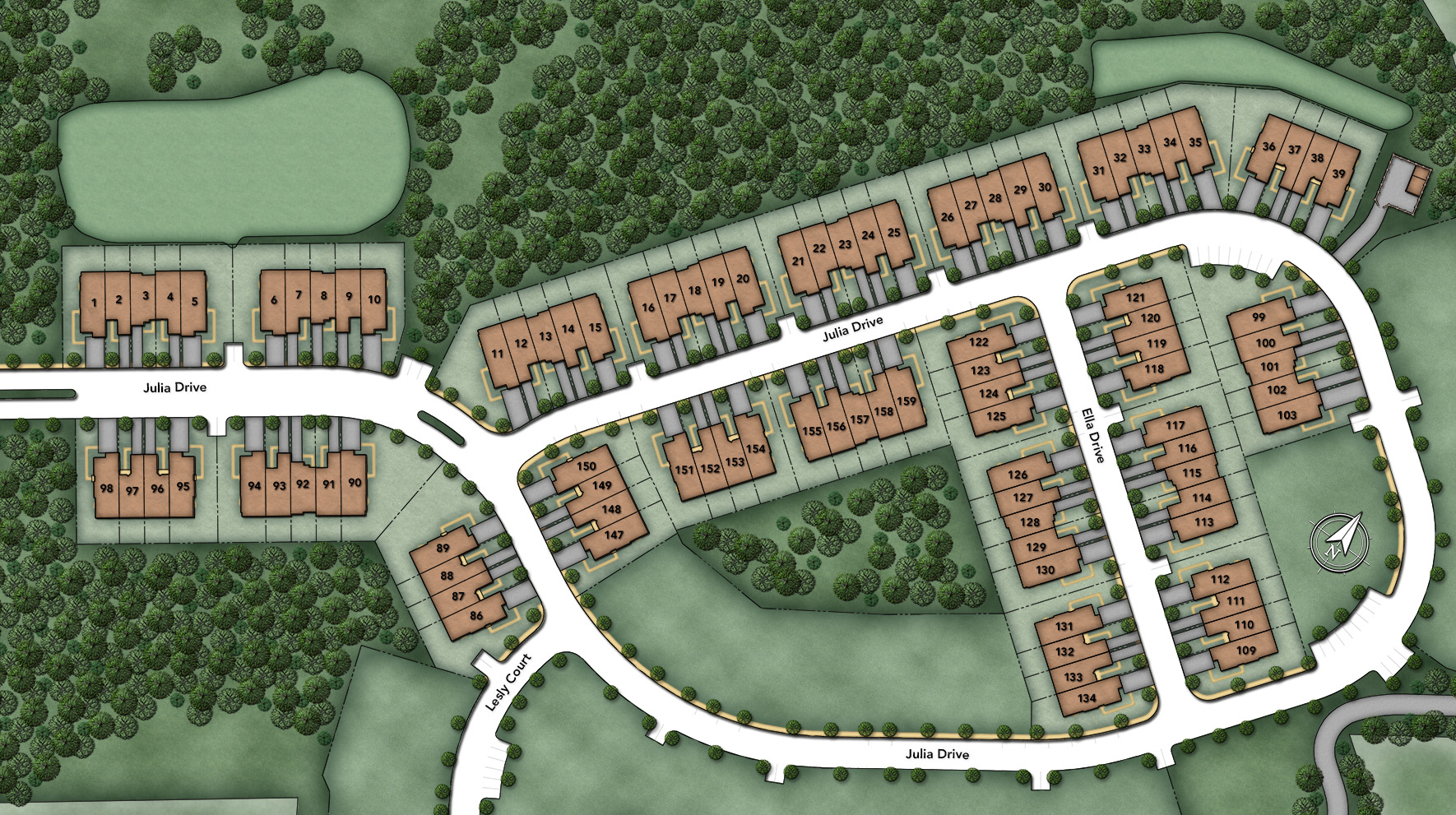 Oaks at Lafayette Hill Site Plan I