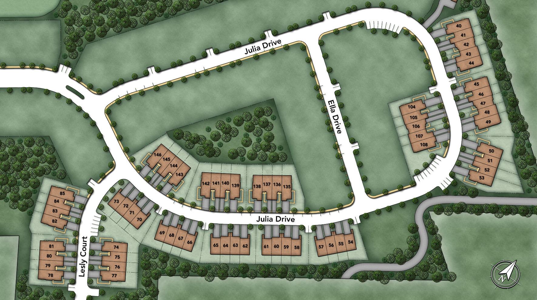 Oaks at Lafeyette Hill Site Plan II