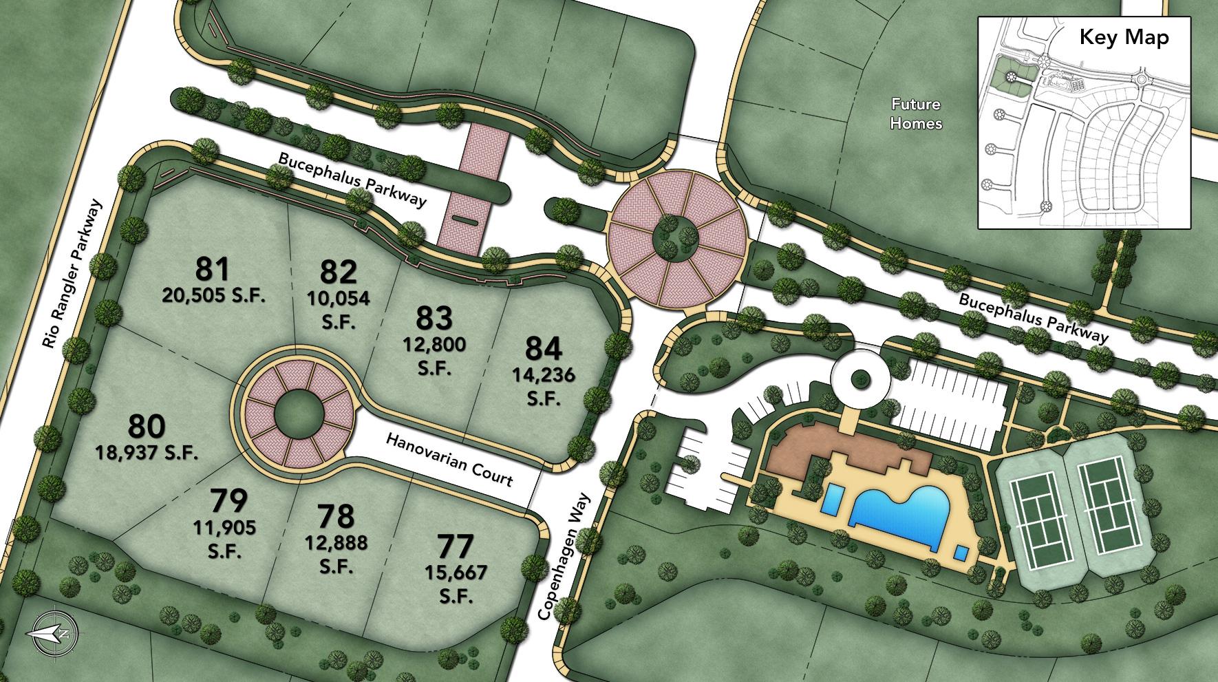 Estates at Saddle Ridge Site Plan 1