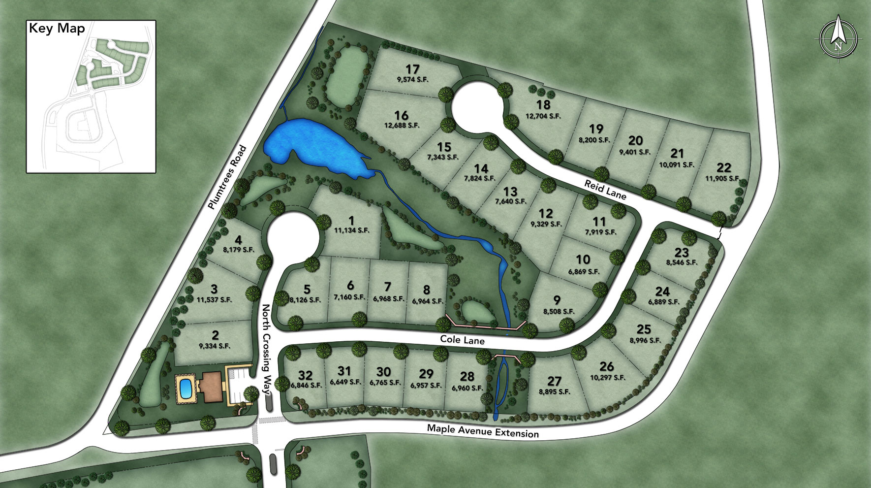 North Crossing Site Plan