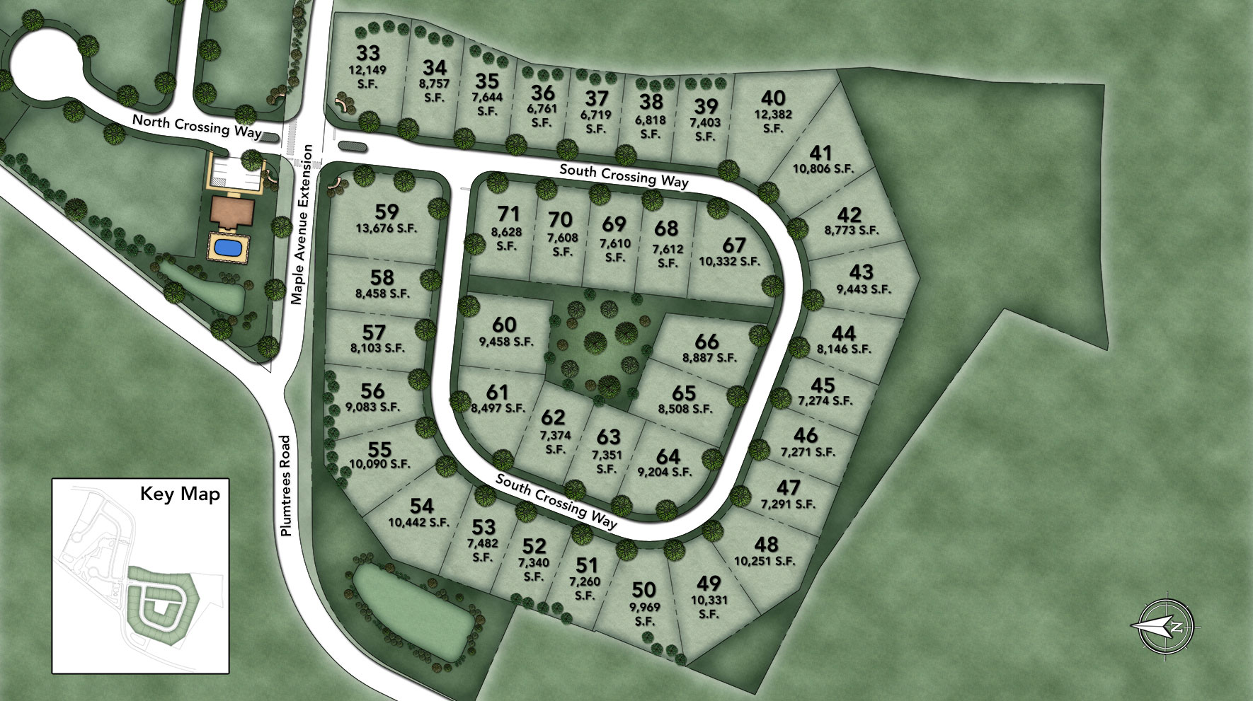 South Crossing Site Plan