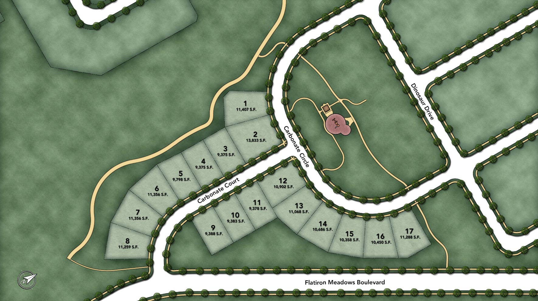 Toll Brothers at Flatiron Meadows - The Vistas Site Plan I