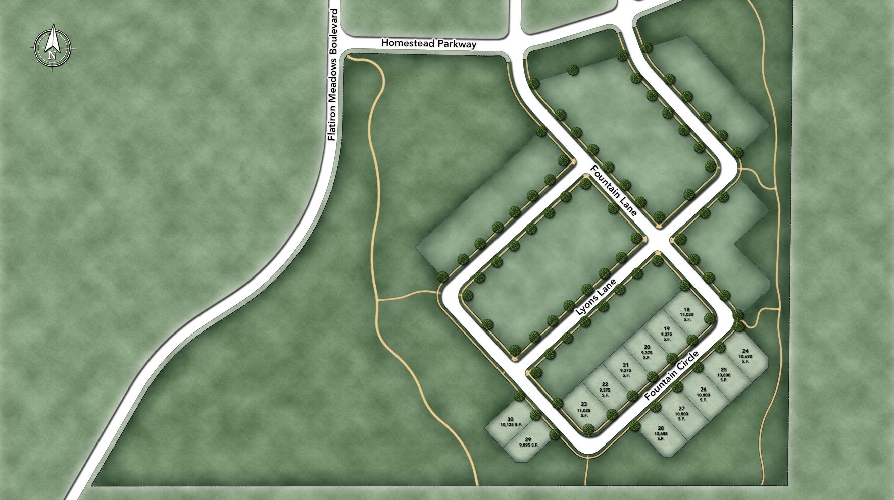 Toll Brothers at Flatiron Meadows - The Vistas Site Plan II