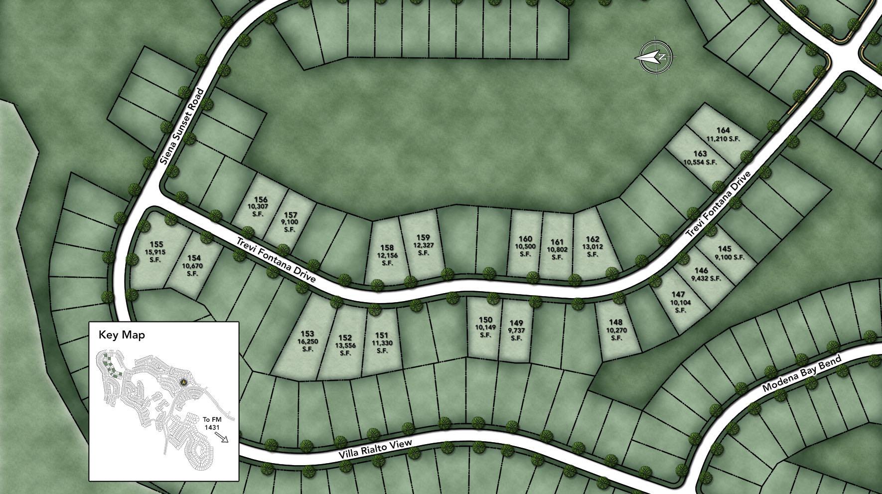 Travisso - Naples Collection Site Plan