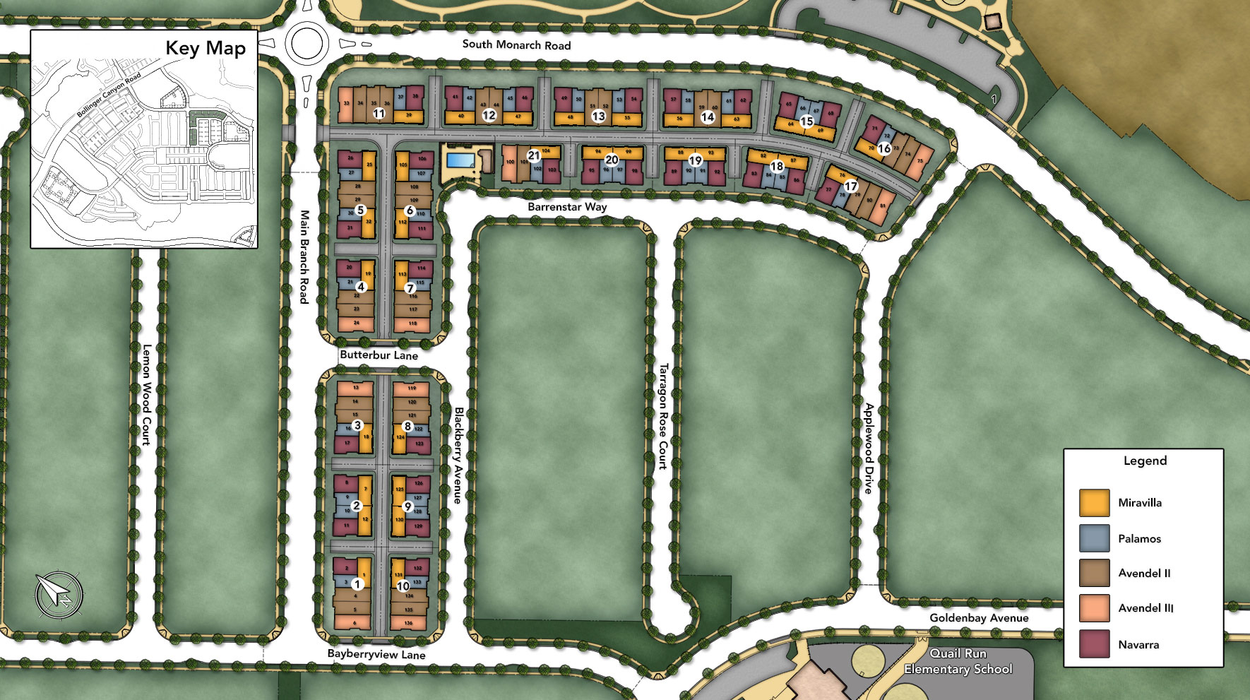 Cantera at Gale Ranch Overall Site Plan