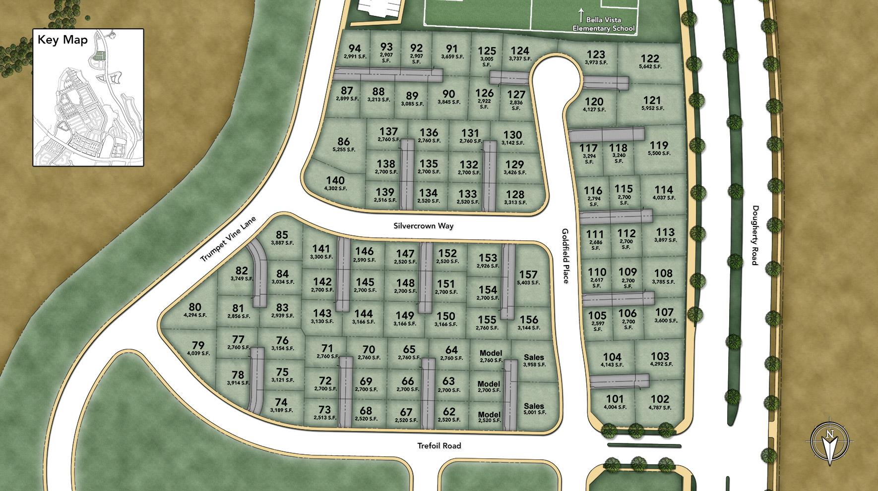 Cordova at Gale Ranch Site Plan