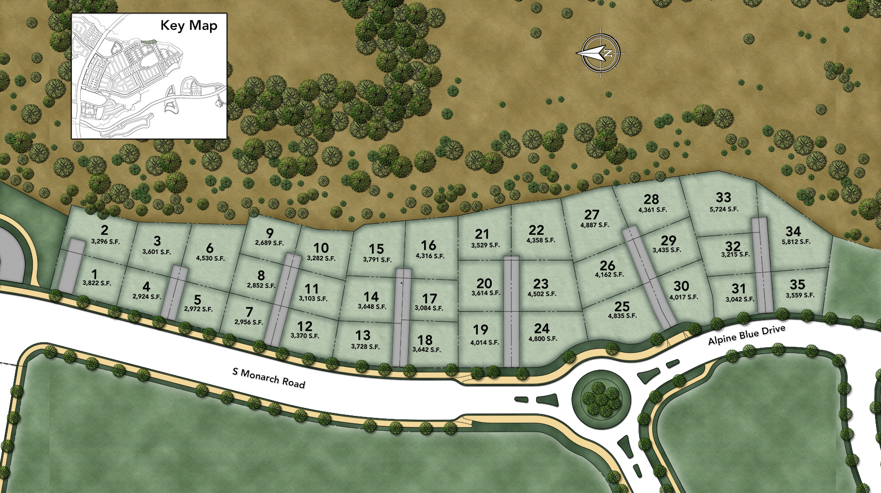 Cordova at Gale Ranch Encore Site Plan