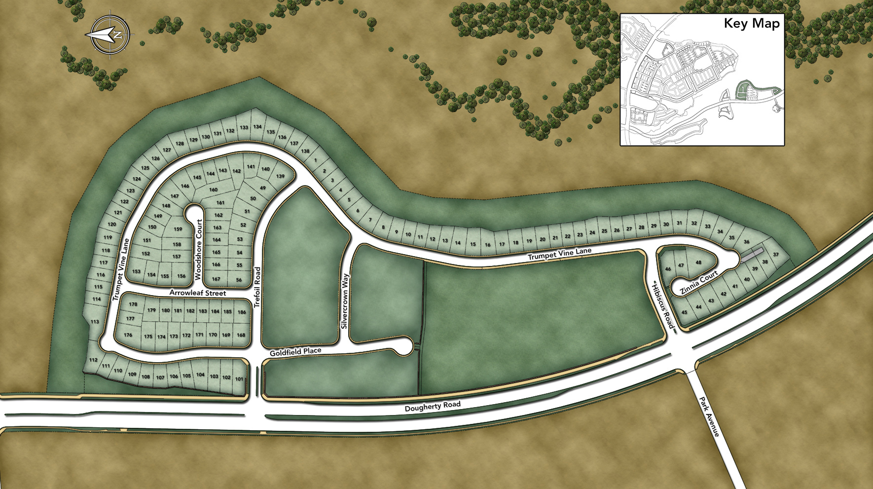 Serena at Gale Ranch Overall Site Plan