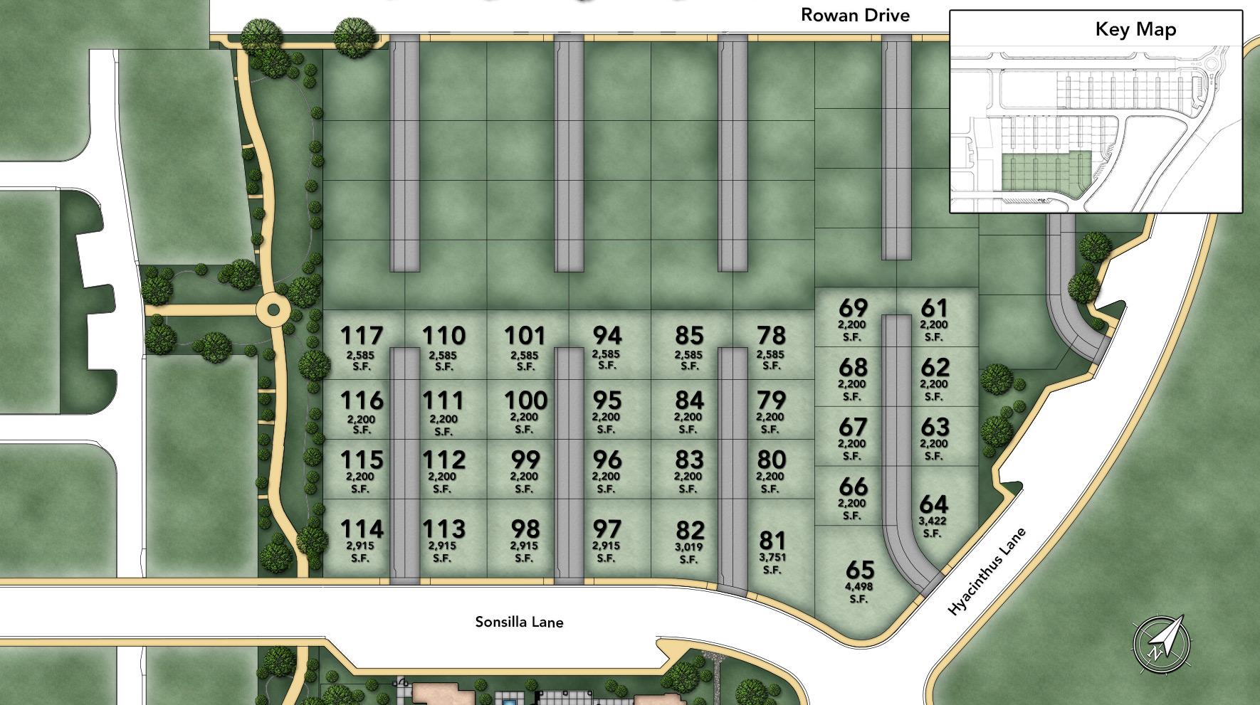 Posante at Gale Ranch Site Plan I