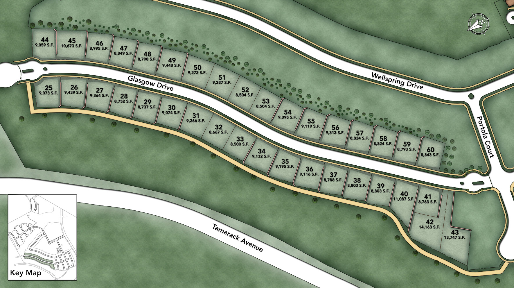 Toll Brothers at Robertson Ranch - The Bluffs Site Plan