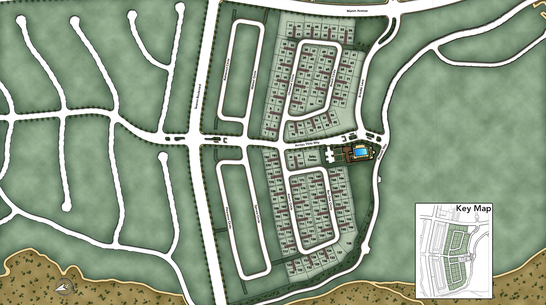 The Canyons at Porter Ranch - Pointe Collection Site Plan