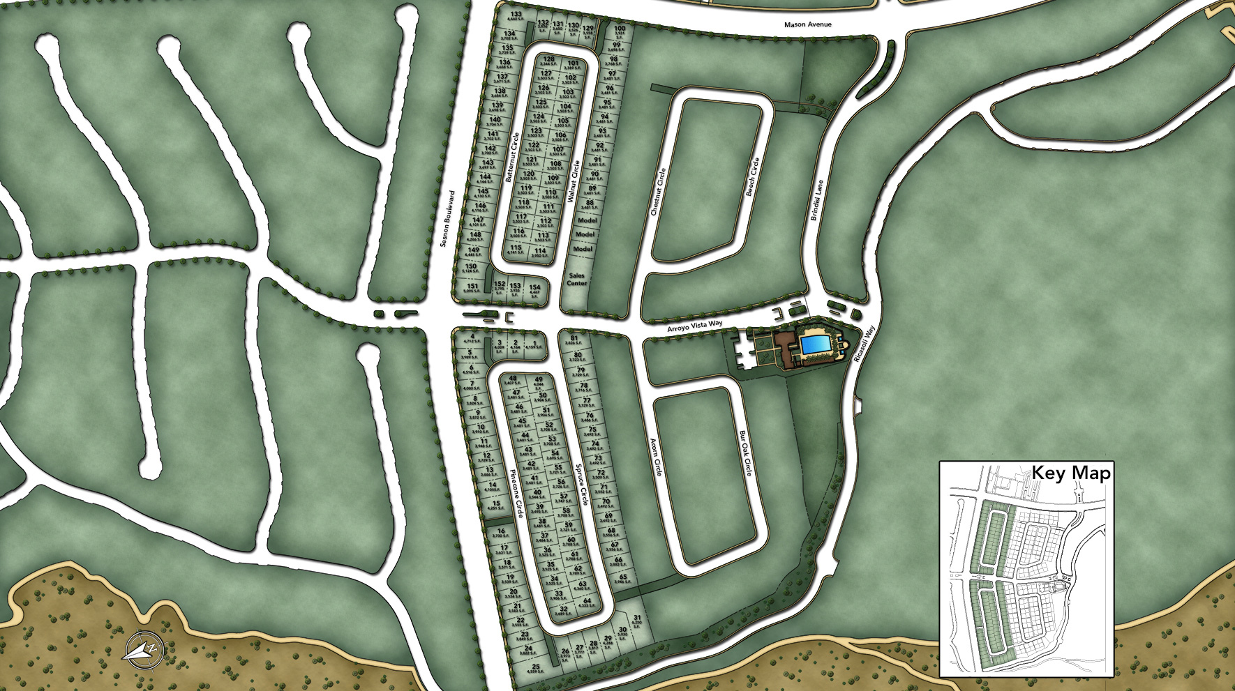 The Canyons at Porter Ranch - Peak Collection Site Plan