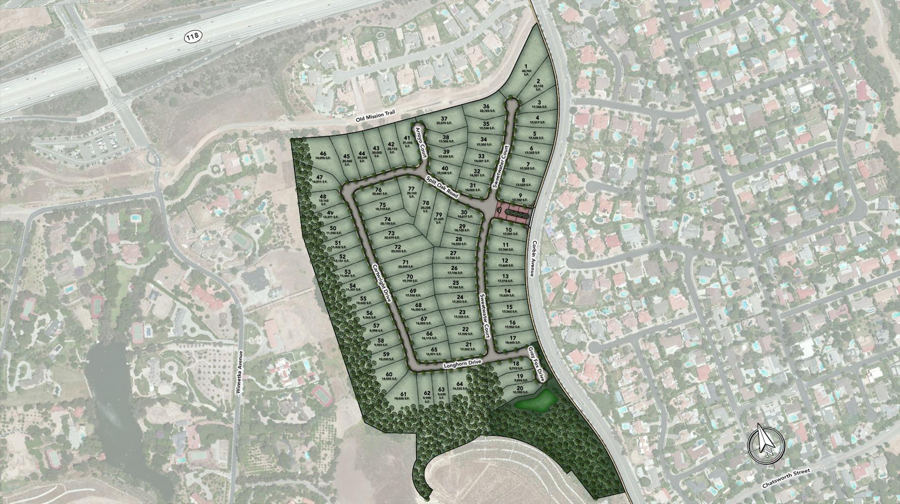 Canyon Oaks Site Plan