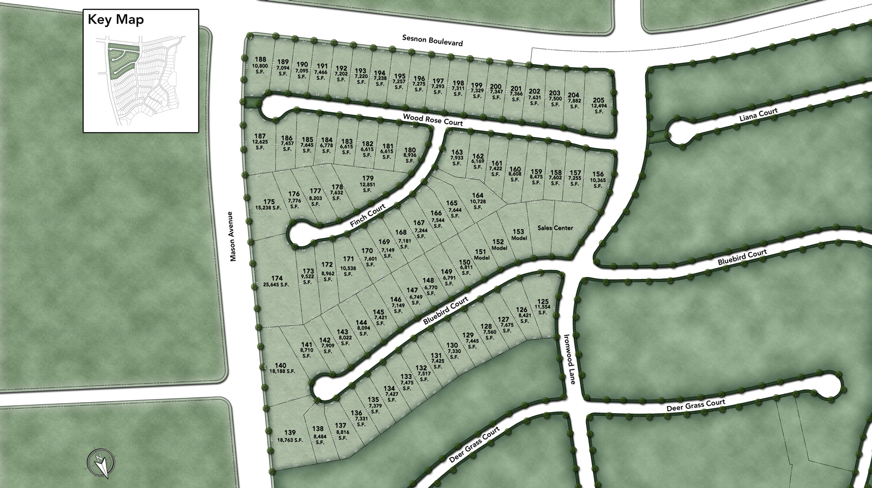Hillcrest at Porter Ranch - Beacon Collection Site Plan
