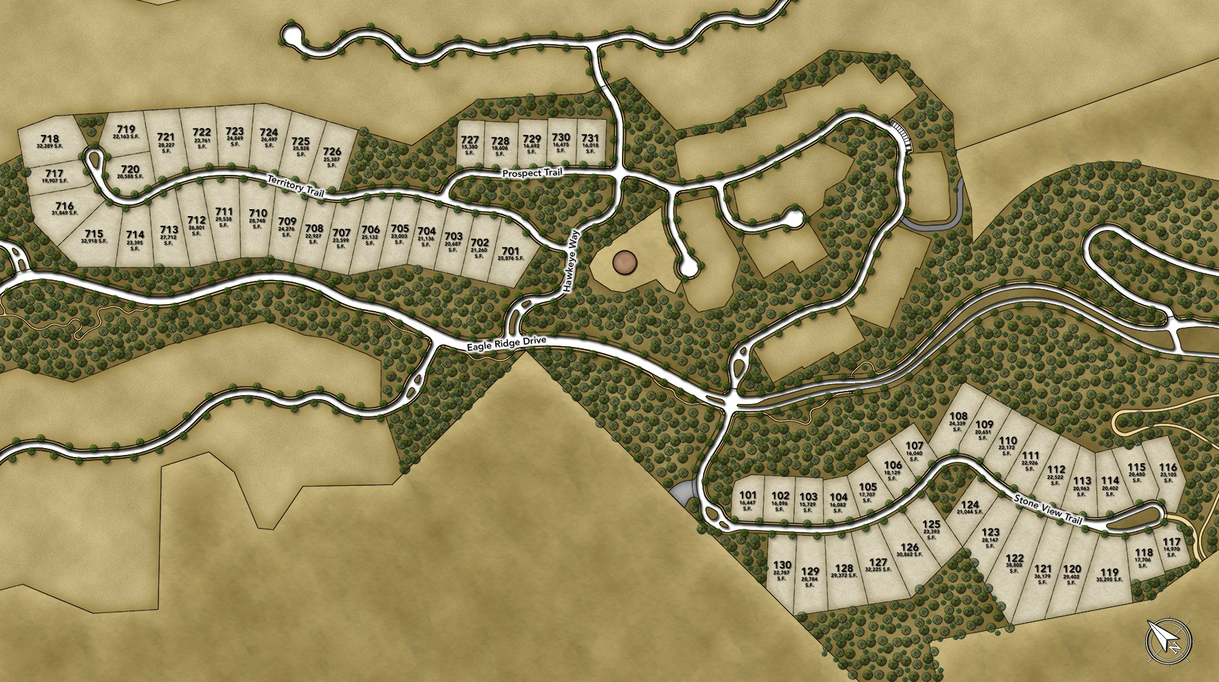 Toll Brothers at Adero Canyon Site Plan