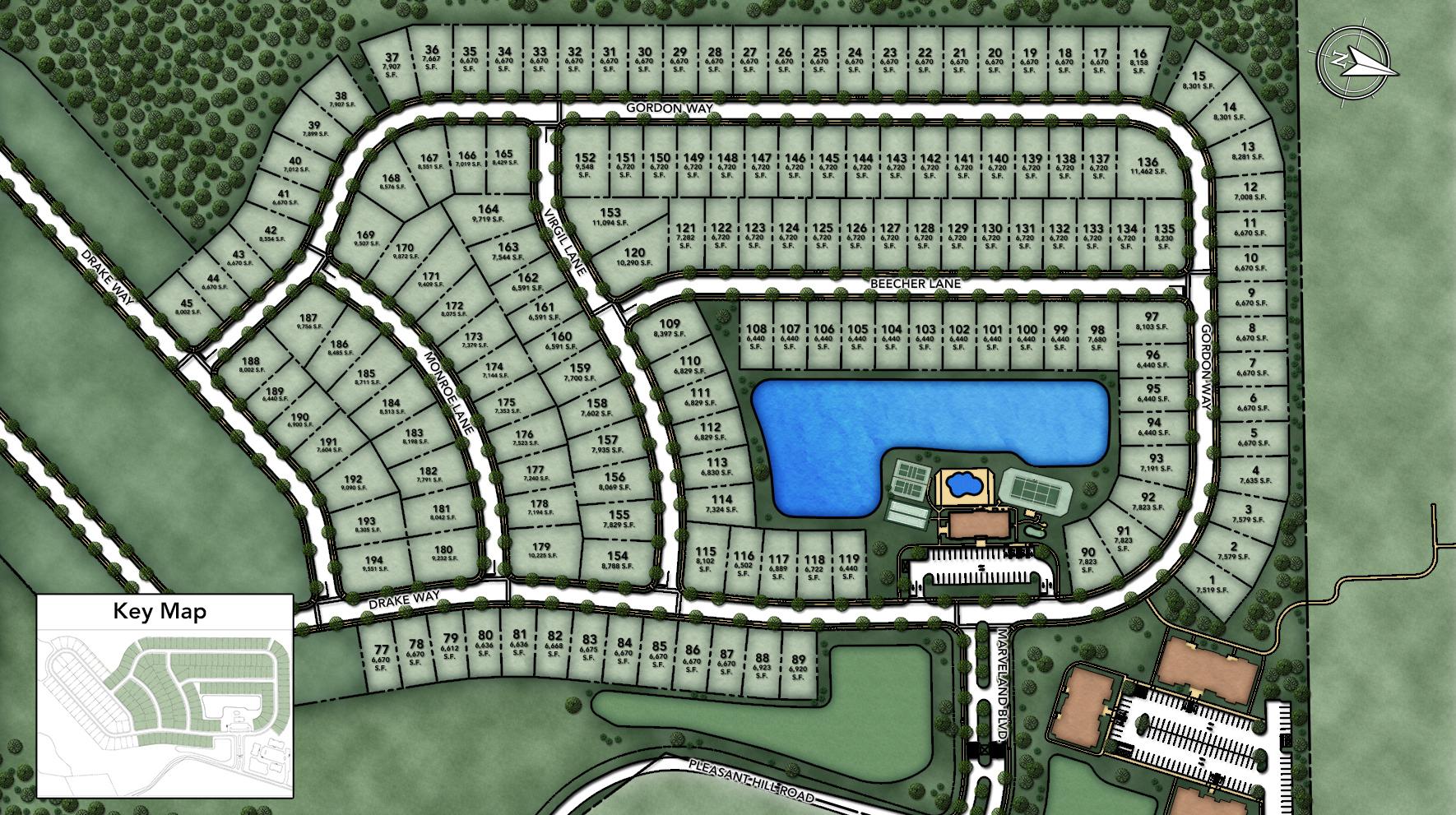 Regency at Flanders Site Plan