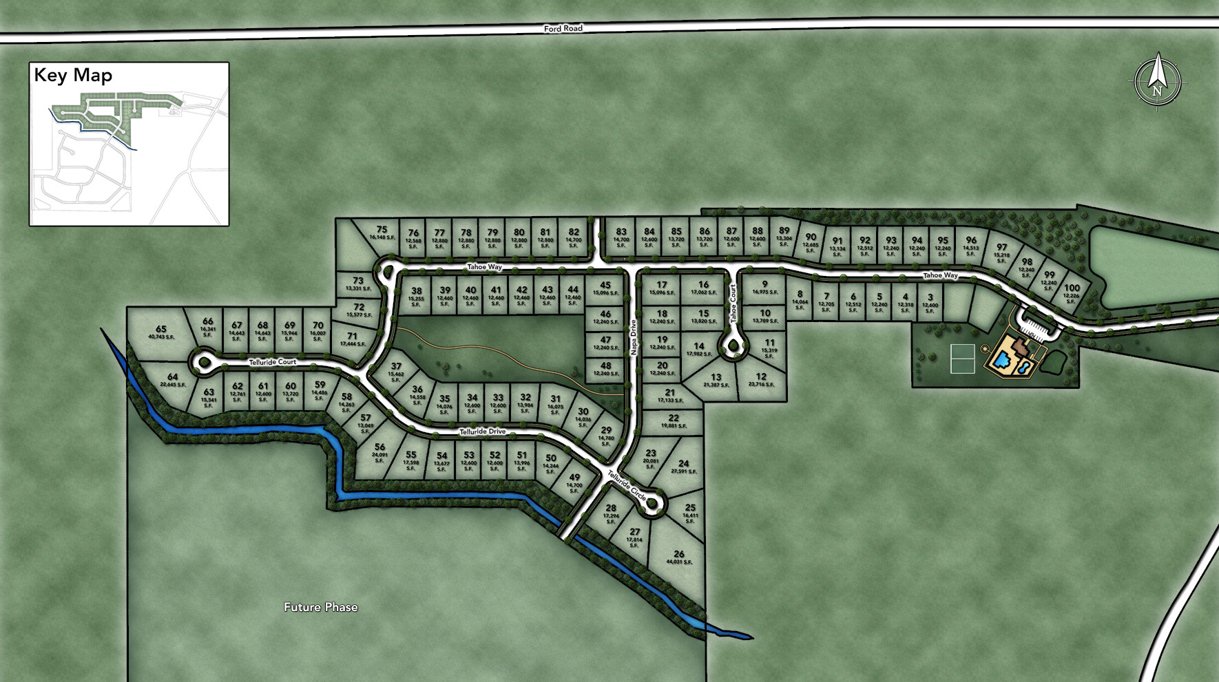 Westridge Estates of Canton Site Plan I