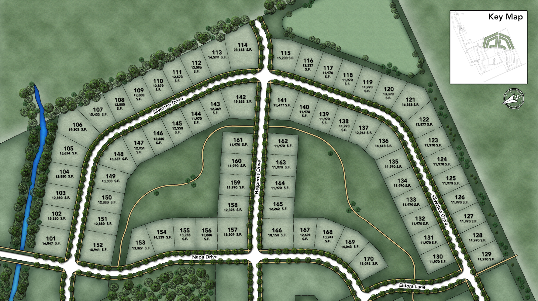 Westridge Estates of Canton Site Plan II