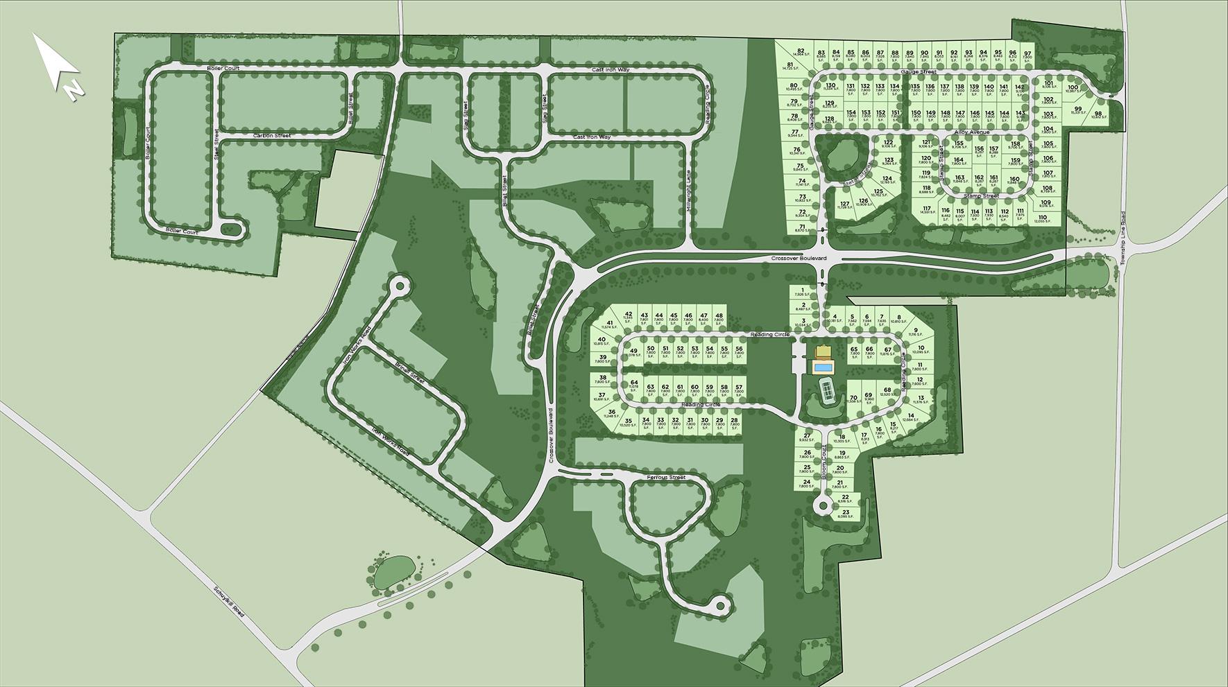 Regency at Kimberton Glen Overall Site Plan