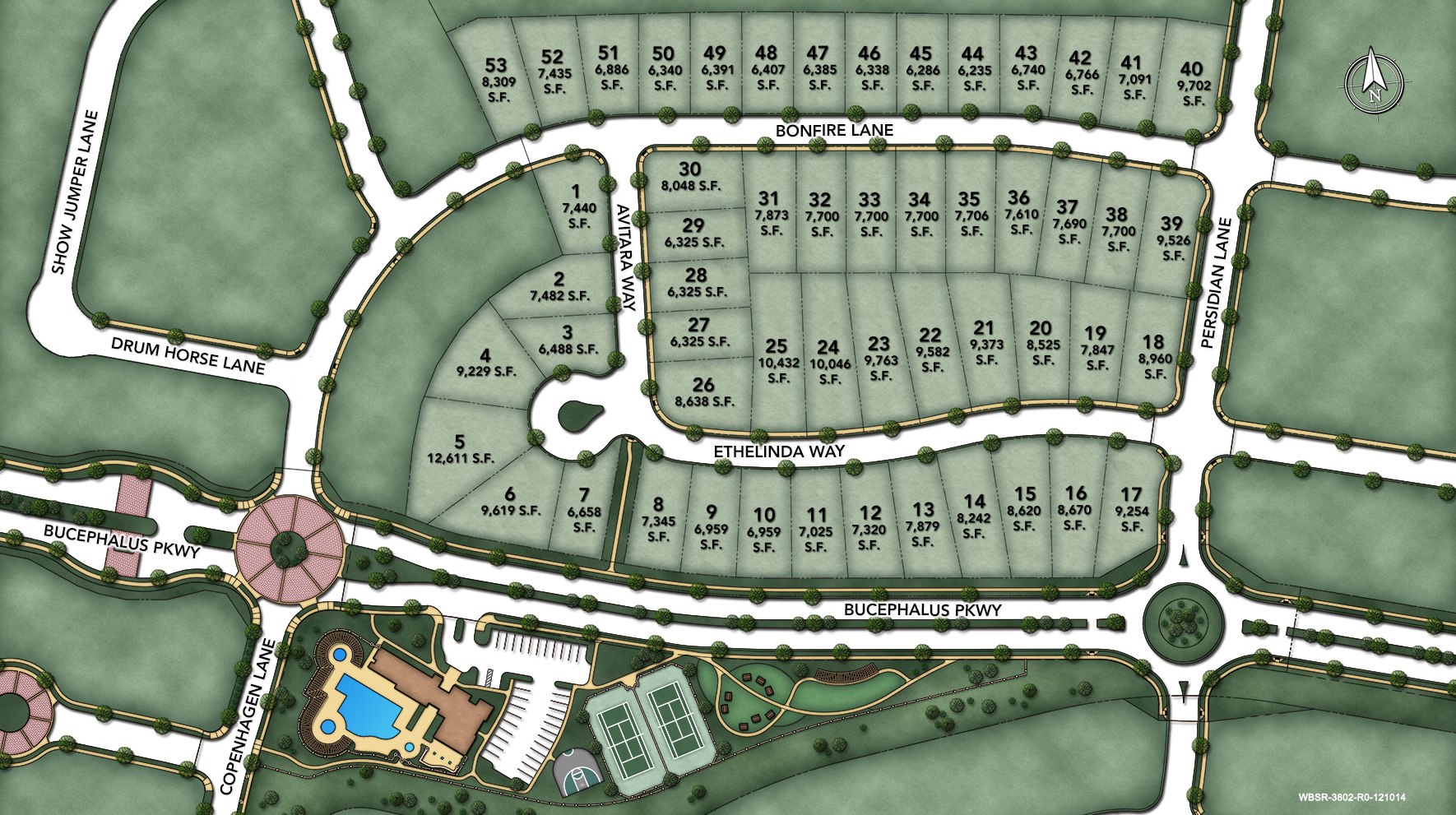 Willow Bend at Saddle Ridge Site Plan I