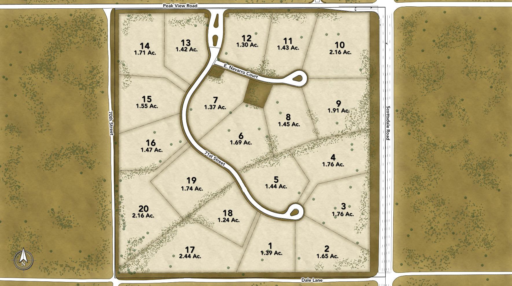 Turquesa Site Plan
