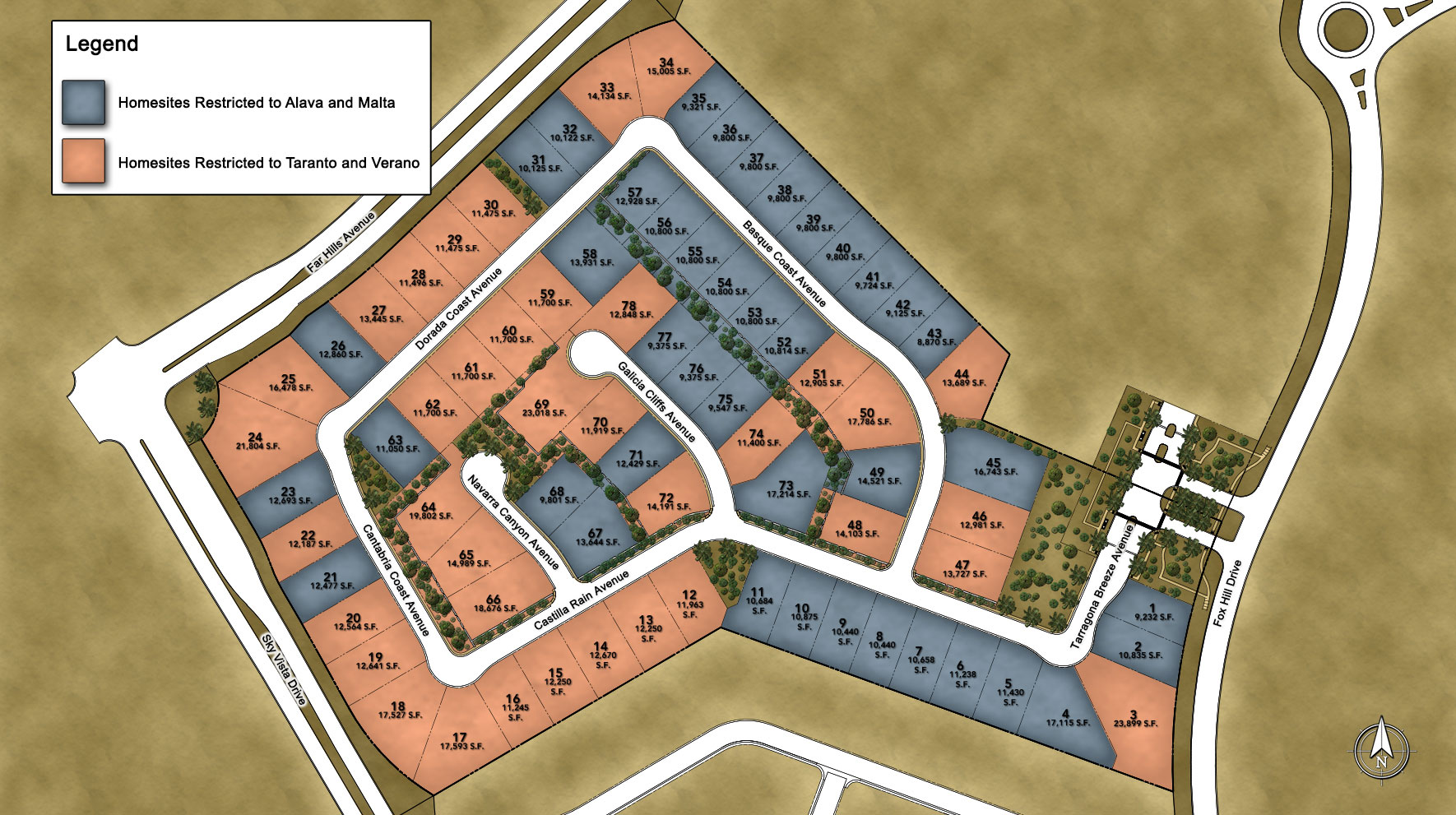 Los Altos Site Plan