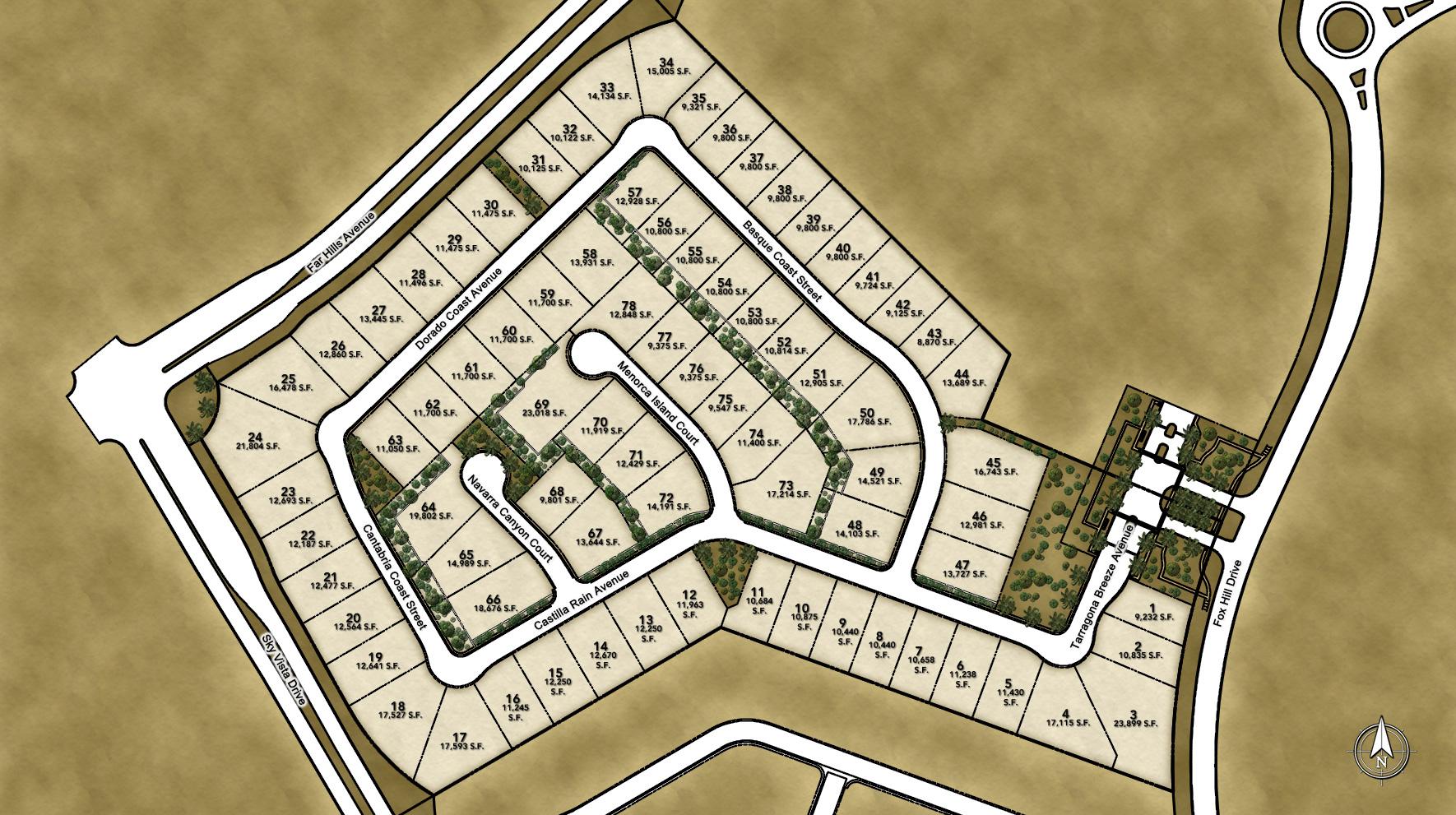 Los Altos Site Plan