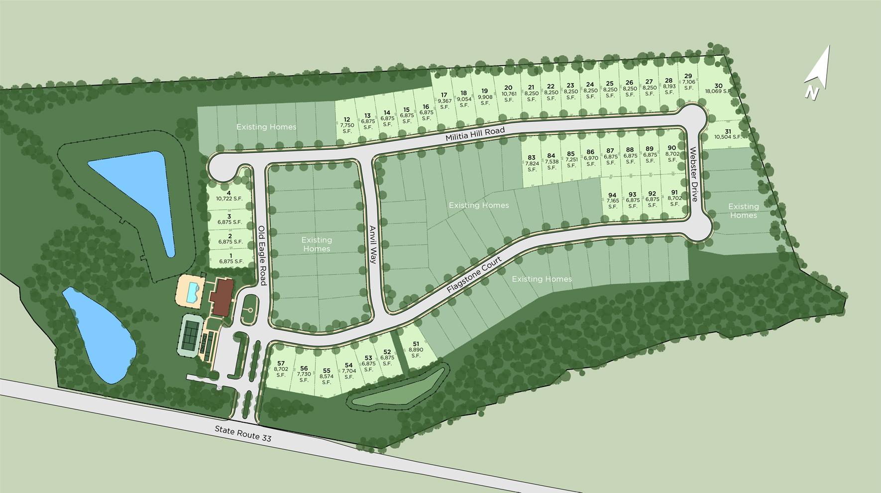 Regency at Freehold Site Plan