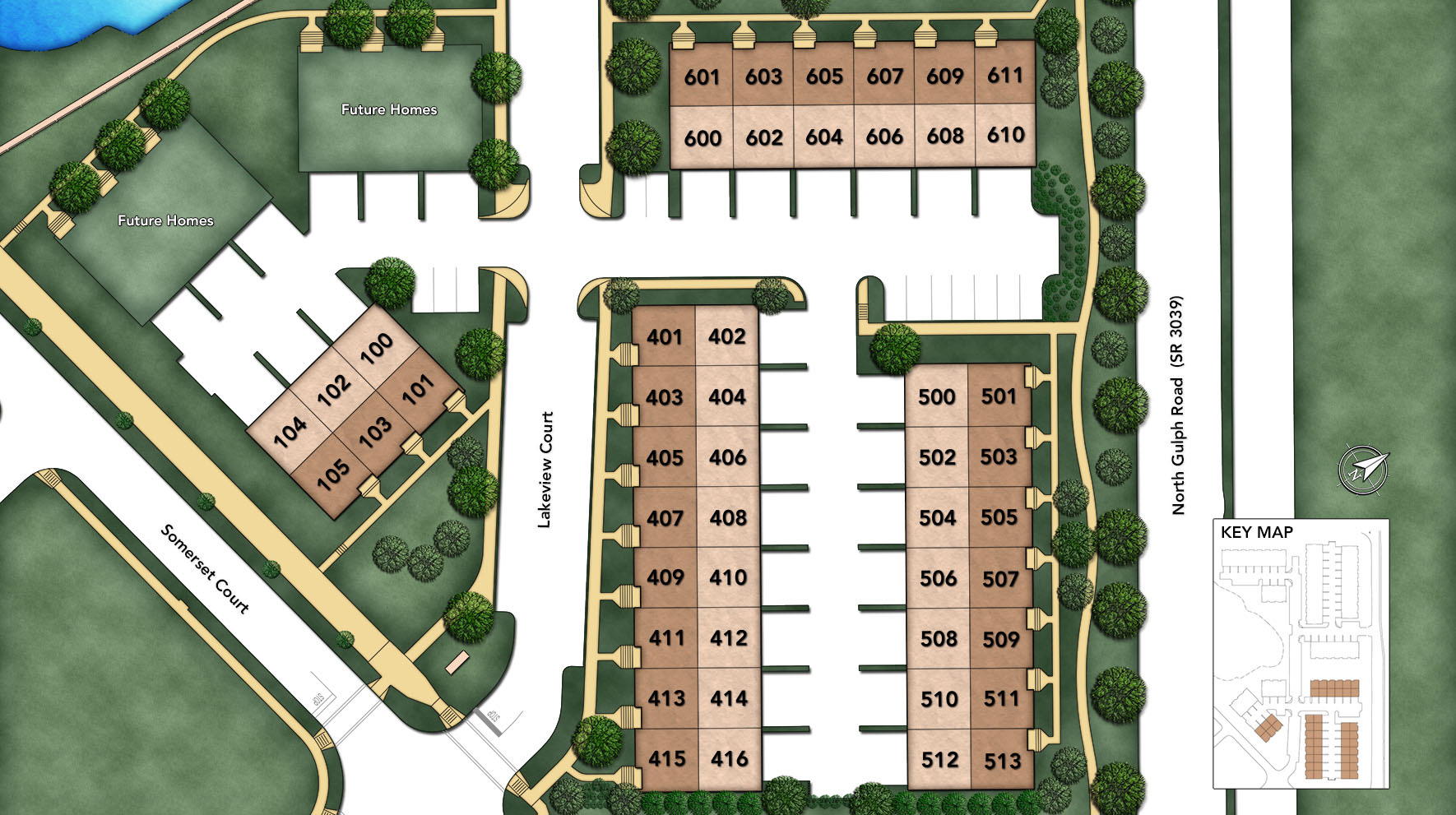 Brownstones at The Village at Valley Forge Site Plan