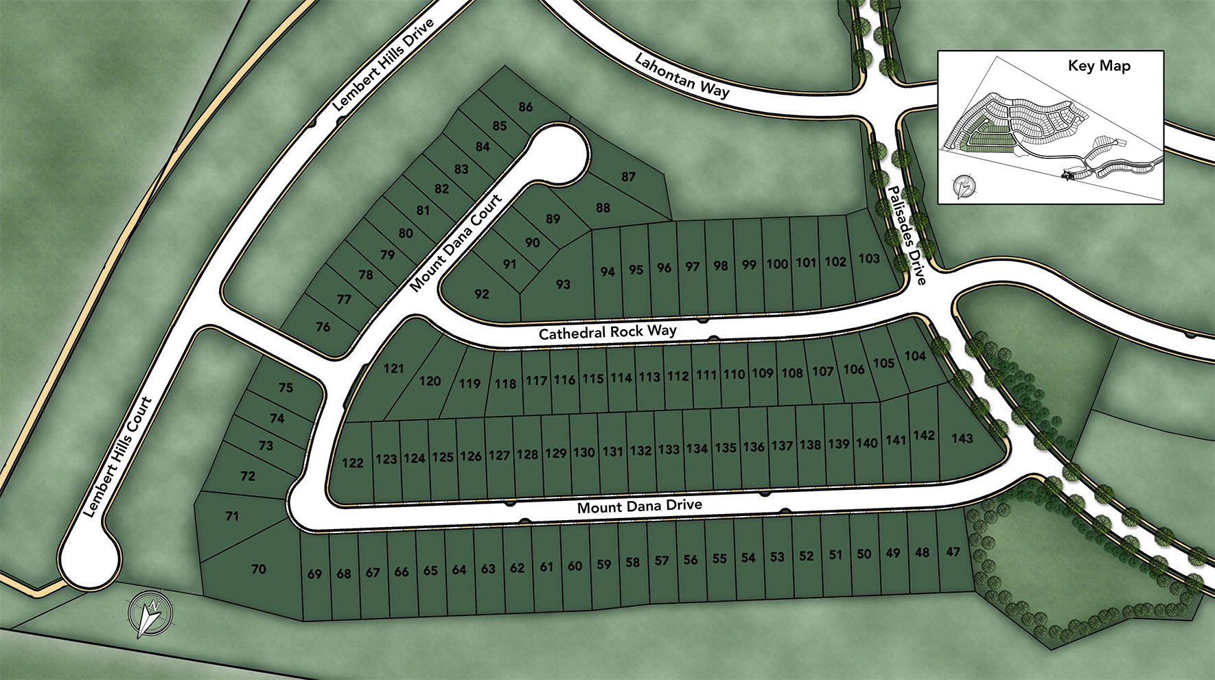 The Glen at Tassajara Hills Site Plan I
