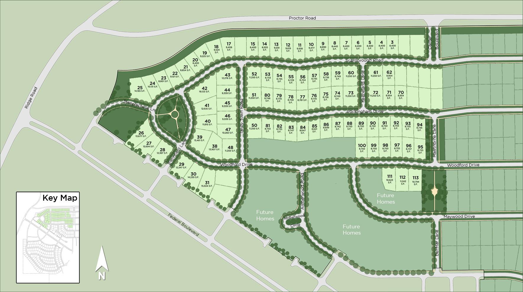 Hamlet Meadows Site Plan
