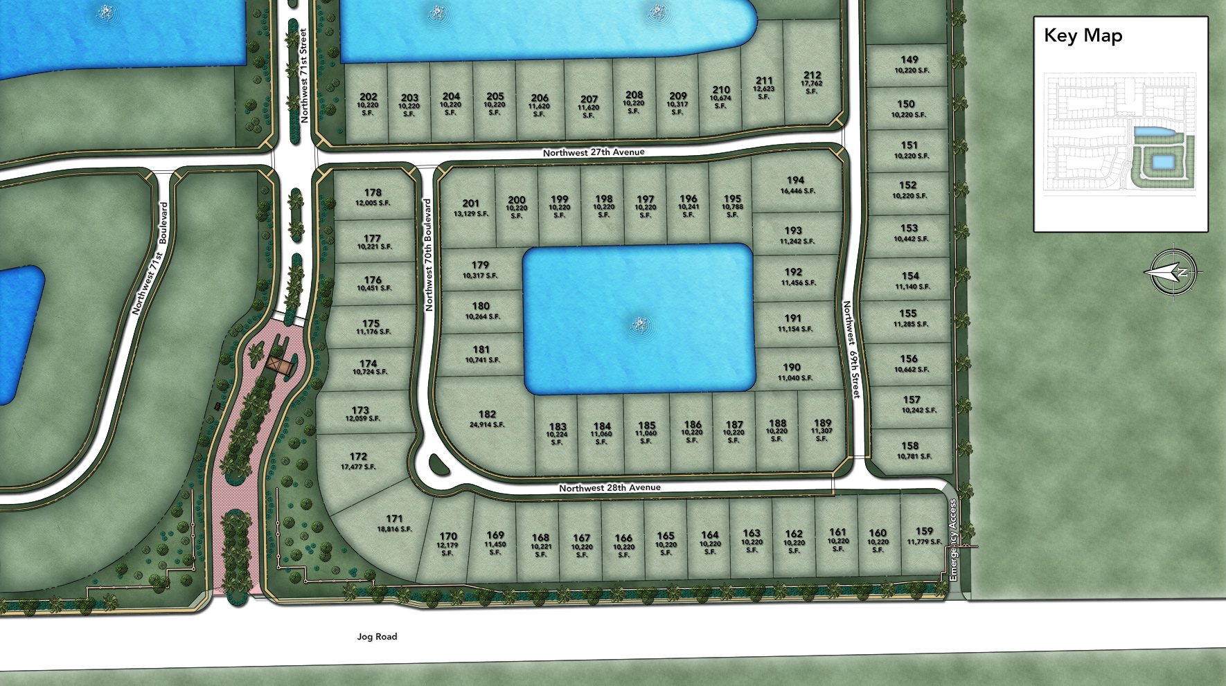 Royal Palm Polo - Heritage Collection Site Plan II