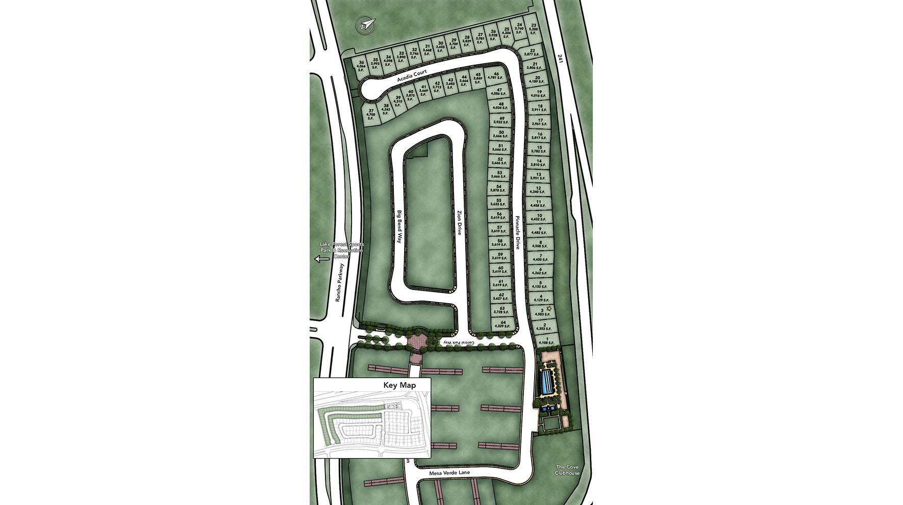 Arlington at Parkside Site Plan