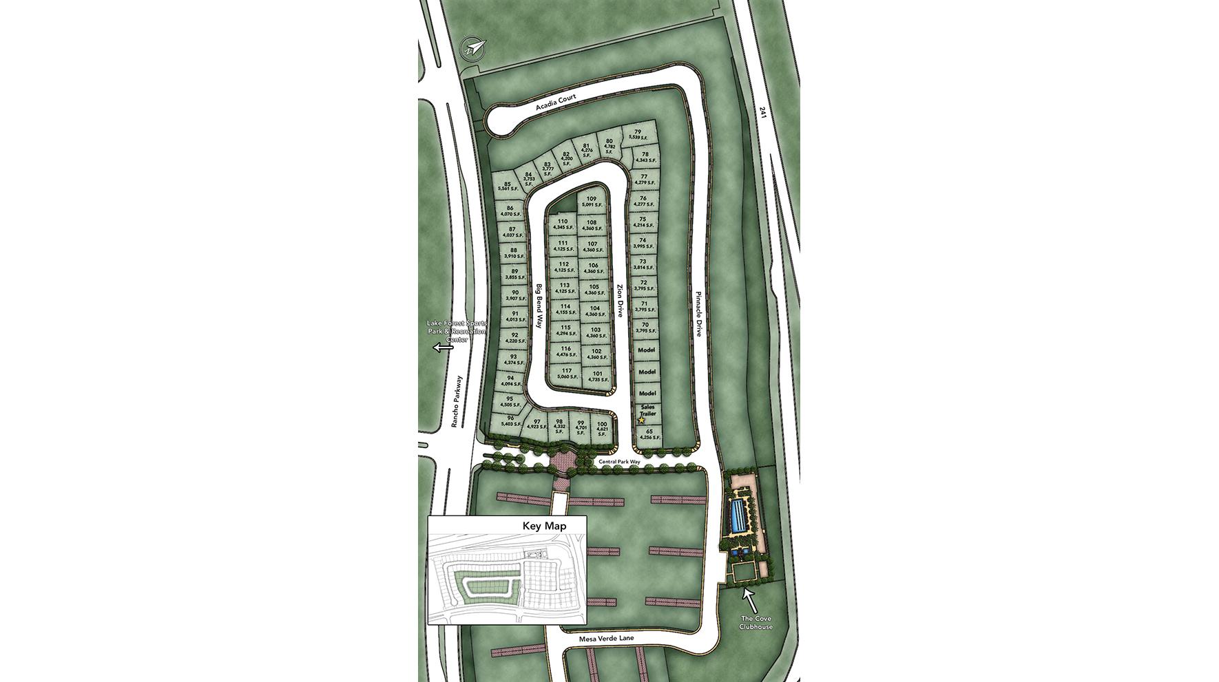 Madison at Parkside Site Plan