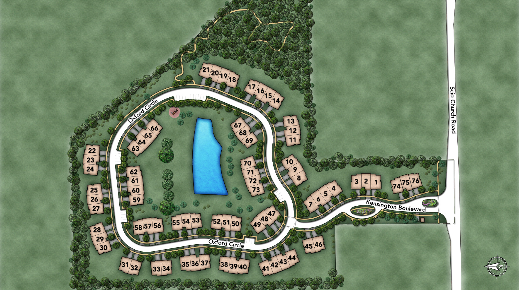 Kensington Woods Site Plan