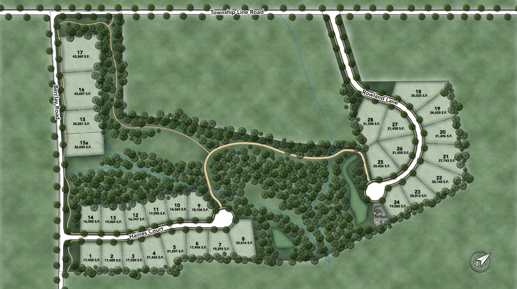 New Britain Woods Site Plan