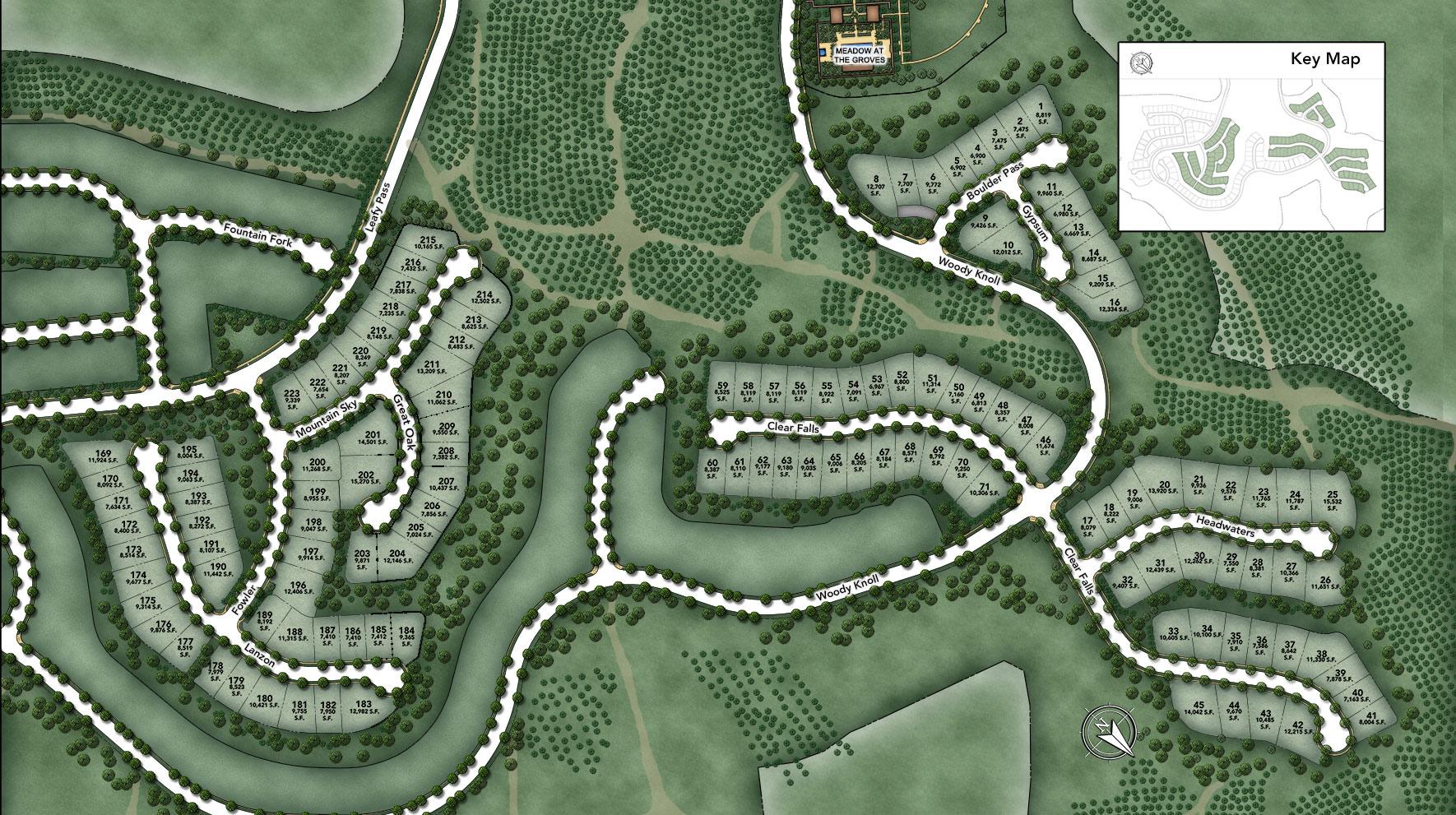 Bella Vista at Orchard Hills Site Plan