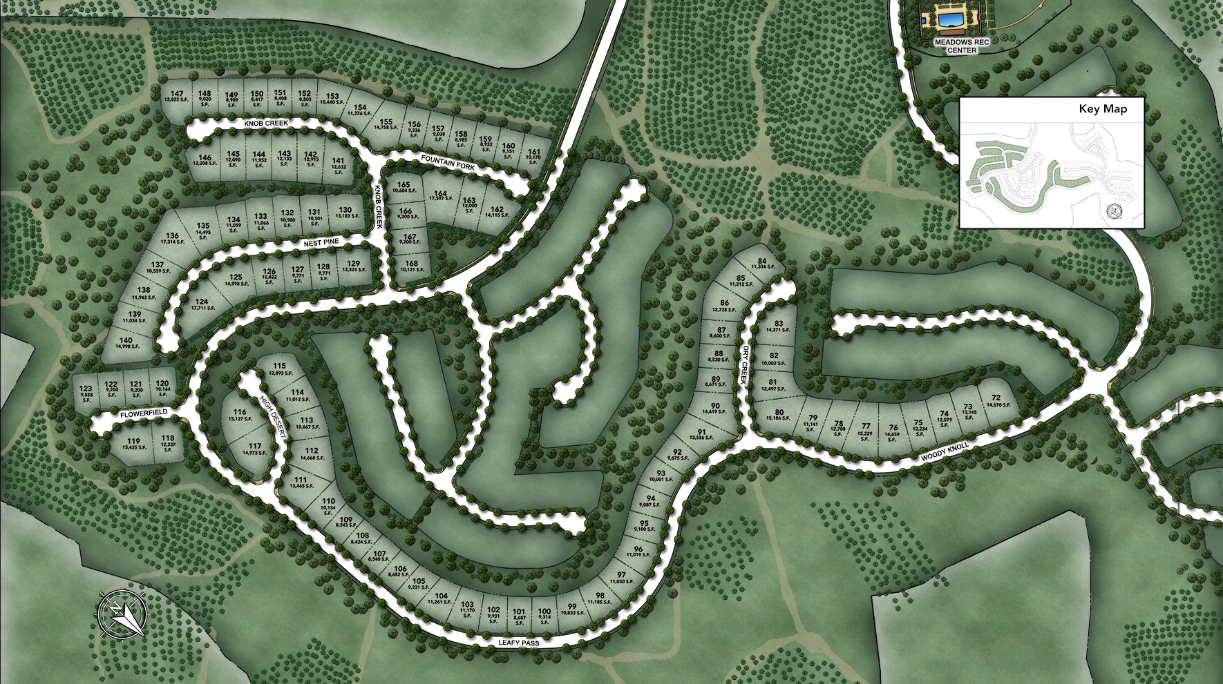 Alta Vista at Orchard Hills Site Plan