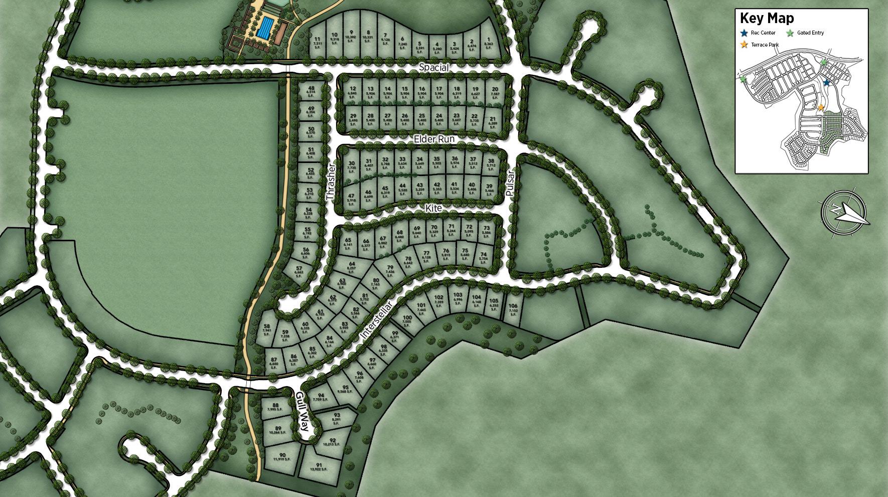 Meridian at Altair Site Plan