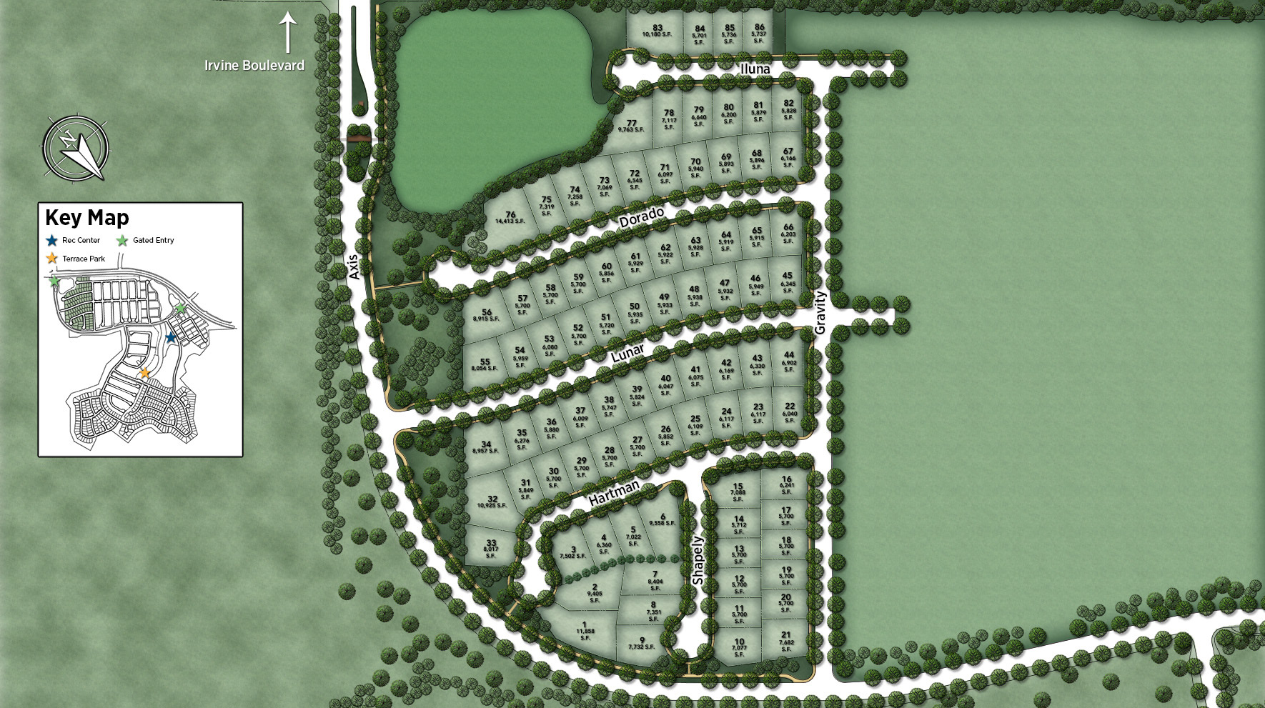 Alara at Altair Site Plan