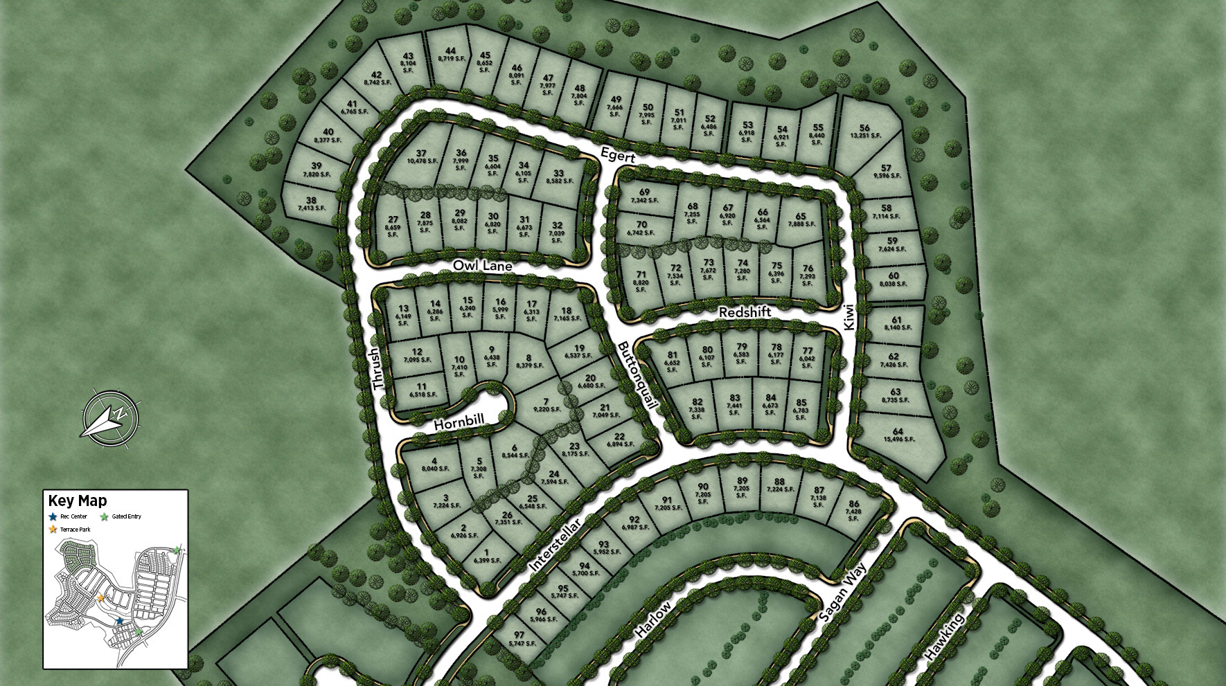 Solano at Altair Site Plan