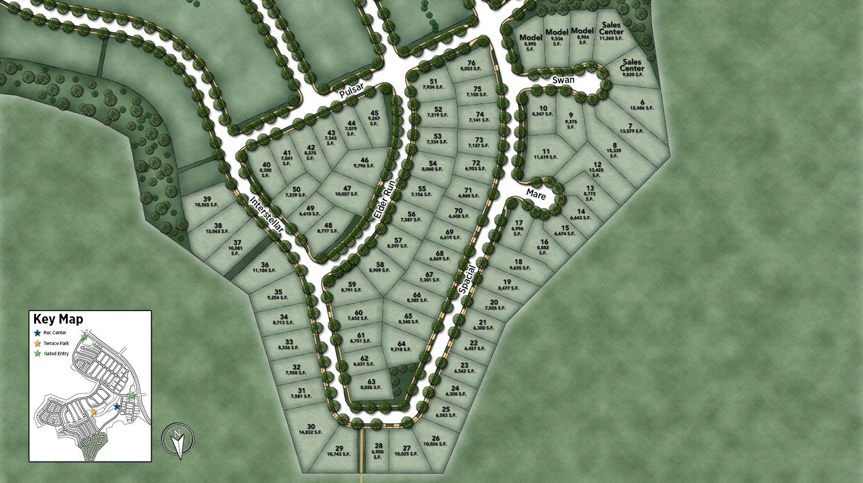 Estrella at Altair Site Plan