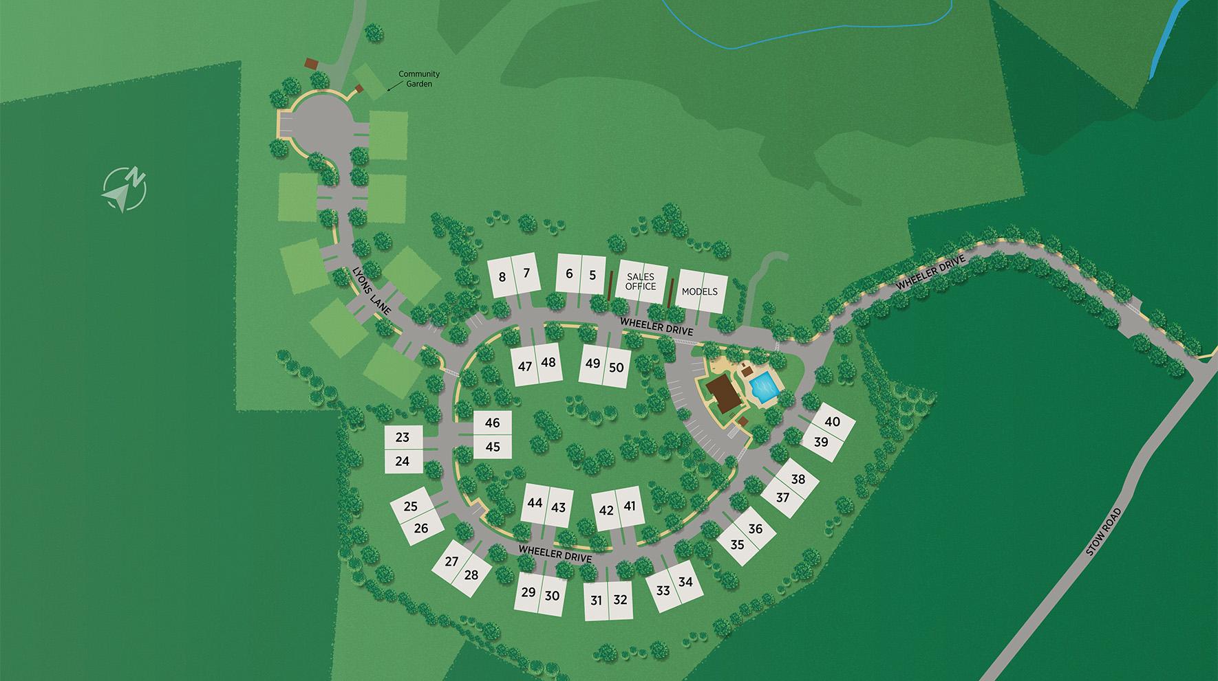 Enclave at Boxborough Site Plan