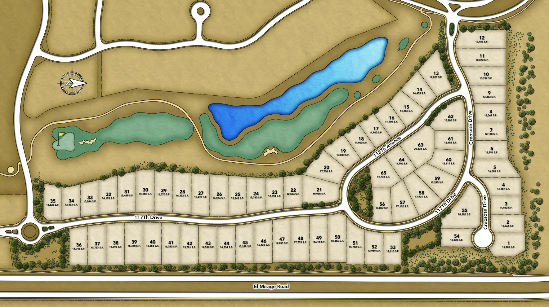 Toll Brothers at Blackstone - The Retreat Collection Overall Site Plan