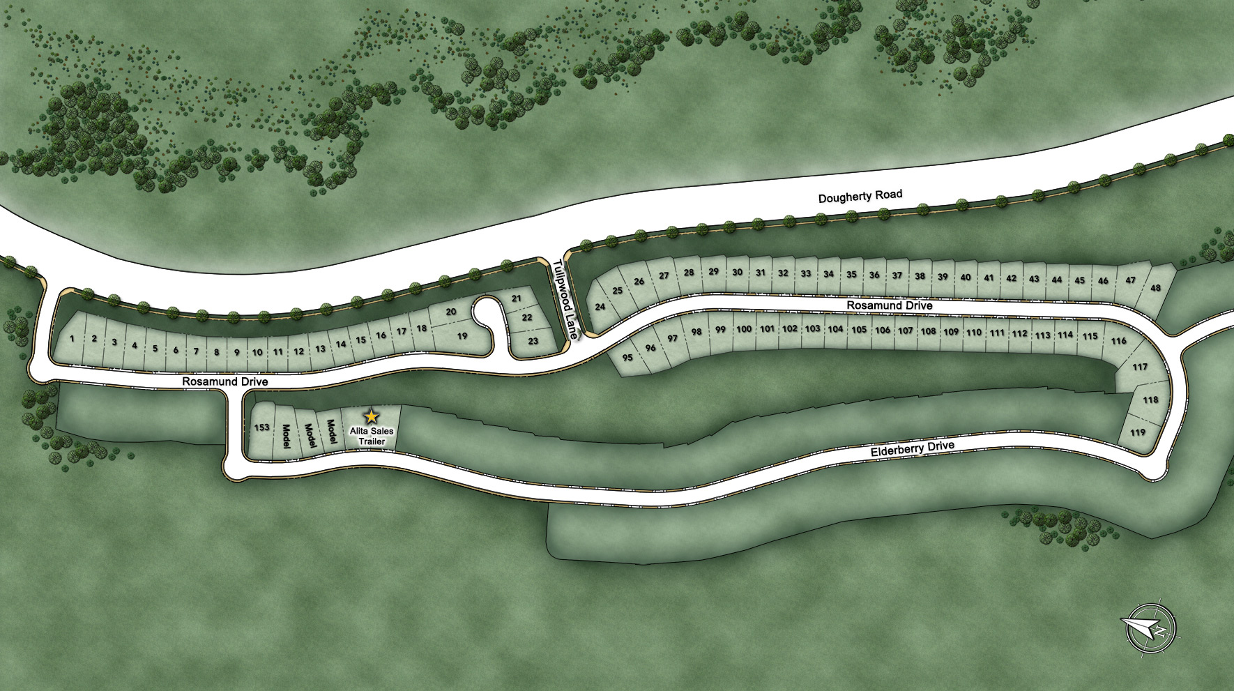Alita at Gale Ranch Site Plan