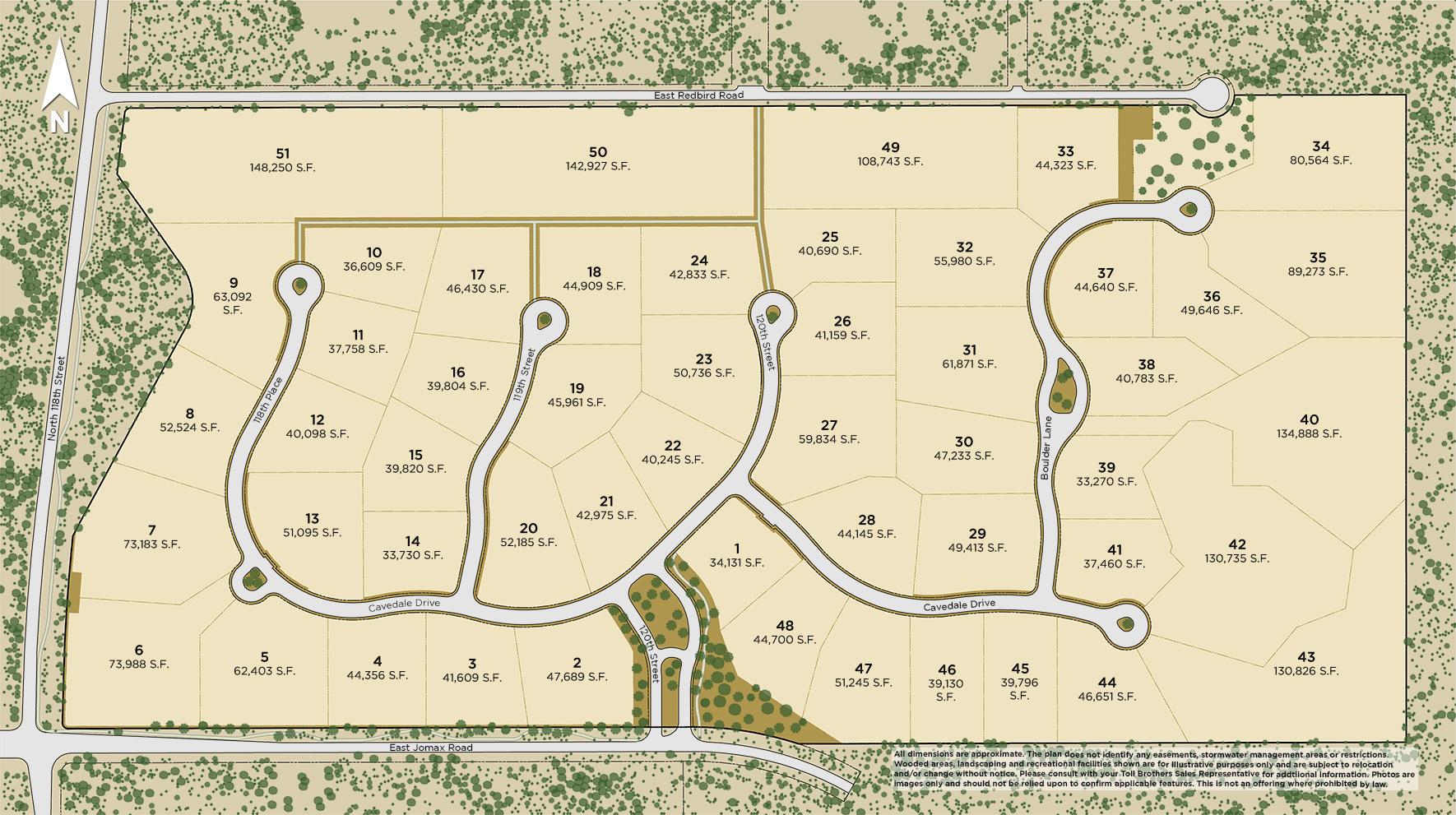 Boulder Ranch Site Plan